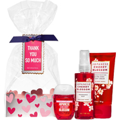 Bath & Body Works Mini Power Bundle Giftset Cello Japanese Cherry Blossom
