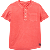 OshKosh B'gosh Little Boys Henley Tee