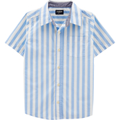 OshKosh B'gosh Little Boys Striped Button Front Shirt