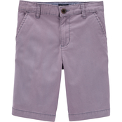 OshKosh B'gosh Little Boys Stretch Chino Shorts