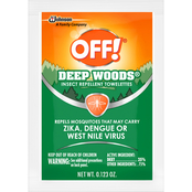 OFF! Deep Woods Insect Repellent Towelettes 12 ct.