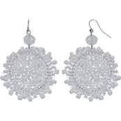 jules b Snowflake Earrings