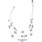 jules b Fireball Illusion Necklace