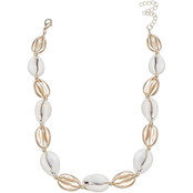 jules b Cowry Shell Necklace