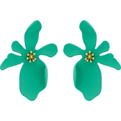 Panacea Organic Flower Post Earrings