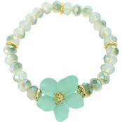 Panacea Flower Petal Stretch Bracelet