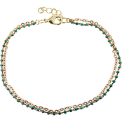 Panacea Turquoise Chain Anklet