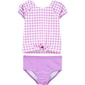 Carter's Toddler Girls Gingham 2 pc. Rashguard Set