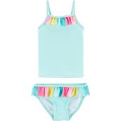 Carter's Infant Girls Rainbow Ruffle Tankini