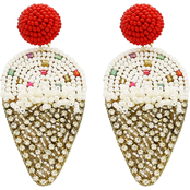Panacea Ice Cream Beaded Earrings