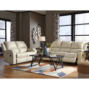 Signature Design by Ashley Rackingburg Reclining Sofa and Loveseat Set