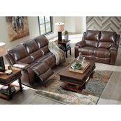 Signature Design by Ashley Rackingburg Power Reclining Sofa and Loveseat