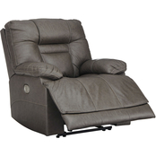 Signature Design by Ashley Wurstrow Power Recliner with Adjustable Headrest