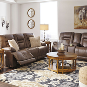 Signature Design by Ashley Wurstrow Power Reclining Sofa and Loveseat