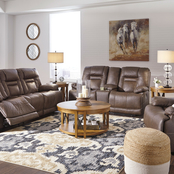 Signature Design by Ashley Wurstrow Power Reclining Sofa, Loveseat and Recliner