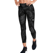 Under Armour Project Rock Heat Gear Armour Printed Ankle Crop Pants