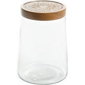 Cravings by Chrissy Teigen Glass Canister with Wood Lid