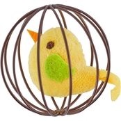 Leaps & Bounds Pounce and Play Chirping Bird Ball Cat Toy