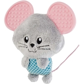 Leaps & Bounds Little Paws Teething Mouse Kitten Toy