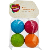 Leaps & Bounds Foam Ball Cat Toys 4 pk.
