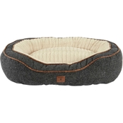 Harmony Cuddler Memory Foam Dog Bed, Grey