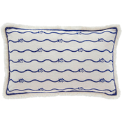 Southern Tide Bayside Embroidered Skipjack 12 x 18 in. Decorative Pillow