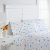 Southern Tide Scattered Seashells White Sheet Set