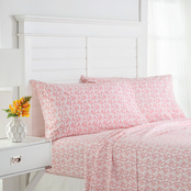 Southern Tide Flamingo Pink Sheet Set