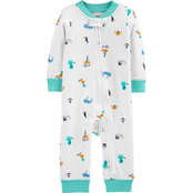 Carter's Toddler Boys Beach Footless Sleep and Play