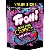 Trolli Sour Brite Crawlers Very Berry Sour Gummy Worms