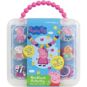 Tara Toy Peppa Pig Necklace 160 pc. Set