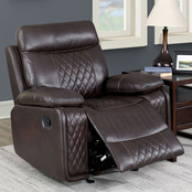 Furniture of America Manda Glider Recliner
