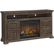 Signature Design by Ashley Wyndahl 103 in. TV Stand with Fireplace Insert