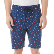 IZOD Printed Knit Sleep Shorts