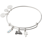 Alex and Ani Barbie Trio Charm Expandable Wire Bangle
