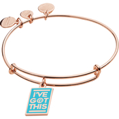 Alex and Ani Barbie I've Got This Expandable Wire Bangle