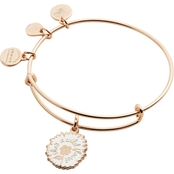 Alex and Ani Color Infusion She's A Wildflower Expandable Wire Bangle Bracelet