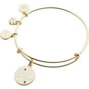 Alex and Ani Color Infusion Sweet as Honey Expandable Wire Bangle Bracelet