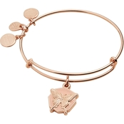 Alex and Ani Color Infusion Butterfly Expandable Wire Bangle Bracelet