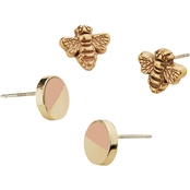 Alex and Ani Color Infusion Honey Bee Earring Set
