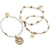Alex and Ani 3 pc. Lunar Phase Stretch Bracelets Set