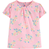 OshKosh B'gosh Toddler Girls Floral Jersey Tee