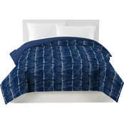 Utica Tie Dye Full/Queen Blue Comforter