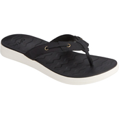 Sperry Women's Adriatic Skip Lace Leather Flip Flops