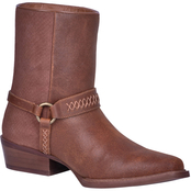 Dingo Men's Butch Side Zip Ankle Boots