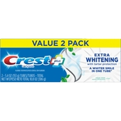 Crest Plus Extra Whitening Complete Toothpaste 2 pk., 5.4 oz.