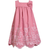 Bonnie Jean Little Girls Embroidered Float Dress