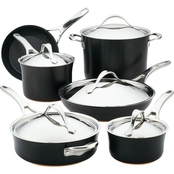 Anolon Nouvelle Copper Luxe Cookware 11 pc. Set