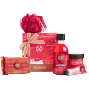 The Body Shop Juicy Strawberry Pampering Essentials