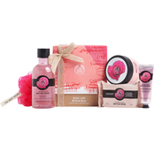 The Body Shop Petal Soft British Rose Pampering Essentials 5 pc. Set